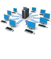 Монтаж локально-вычислительной сети ЛВС в Оренбурге. Монтаж структурированной кабельной системы СКС в Оренбурге.